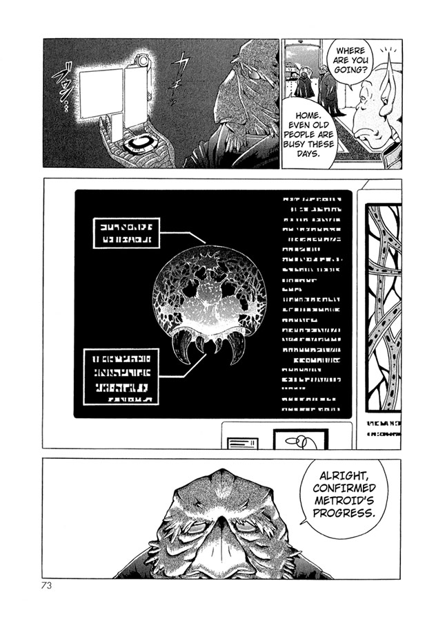 Metroid Manga Volume 1, Chapter 3