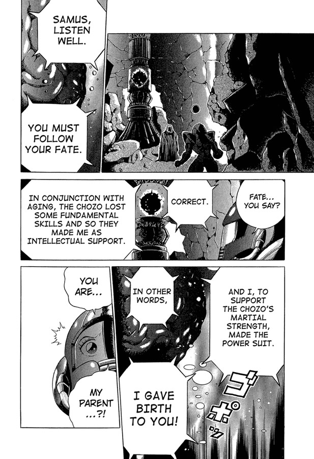 Metroid Manga Volume 1, Chapter 7