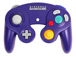 The Nintendo GameCube controller.