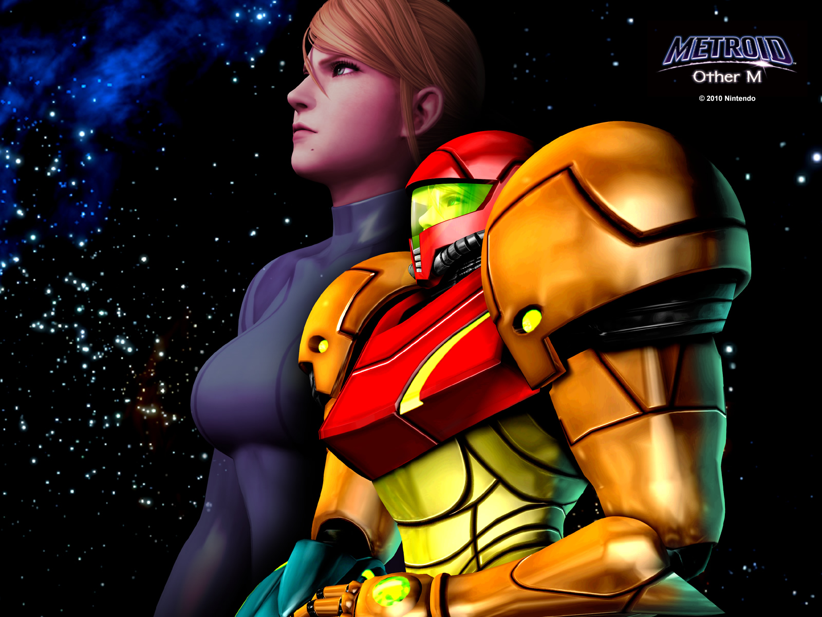 Wallpaper Metroid Other M Metroid Recon