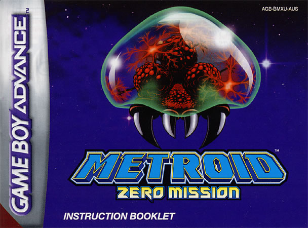 Metroid: Zero Mission instruction manual